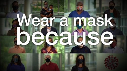 I wear a mask because